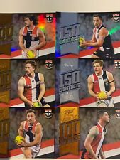 2020  FOOTY STARS PRESTIGE  MILESTONE GAMES ST KILDA TEAM SET OF (6) CARDS