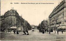 CPA Paris 13e Paris-Boulevard Port-Royal, pris de l'Avenue des Gobelins (311391)