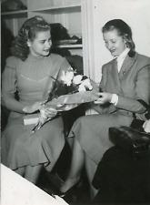 Actrice Blanchette Brunoy, 1950, vintage silver print vintage silver printBl