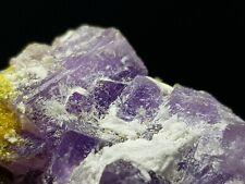 ☆Rarität: Coquimbite, Copiapite, Alunogen💎Top Mineral⚒Javier Ortega Mine, Peru