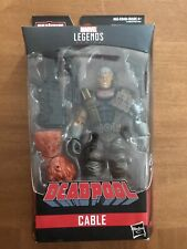 "Hasbro Marvel Legends CABLE X-Force Sasquatch BAF 6"" Action Figure Deadpool NEW"