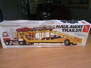 vintage 1/25  transport trailer  # T523