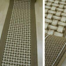 """Alfombra De Pasillo """"Aw Basti Beige """" 67x240 cm alfombra lazo fino NUEVO"""