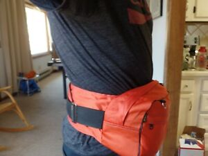 "Vintage ASPAK 1970's  Fanny Pack Waist Bag fits waist 30-42"" 10 liters"