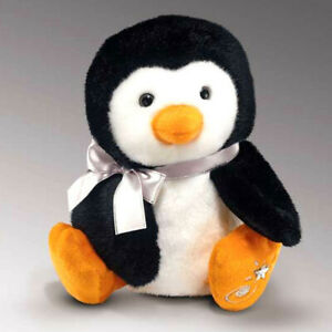 Shining Stars Penguin Plush Soft Toy Russ Berrie Collectible New w/ Tags