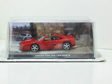 James Bond Car Collection 10 Ferrari F355 GTS - GOLDENEYE & Magazine