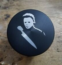 Halloween micheal myers themed 4 piece herb grinder - black
