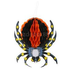 Halloween Hanging 3D Party Decorations Horror Spider Hangers Ornaments