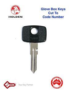 HOLDEN VE COMMODORE Glove Box Keys Cut To Code Number-GM Glovebox HU46