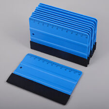 10 Stück 3M blau Filzrakel Soft PP 12CM Messregel Auto Vinyl Folierset Wrapping