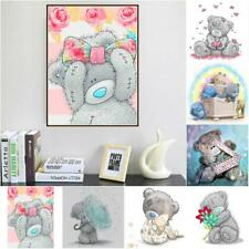 5D DIY Diamond Painting Embroidery Cross Crafts Stitch Kit Home Decor Bear Style