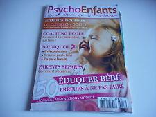 PSYCHO ENFANTS - LEUR DONNER LE MEILLEUR eduquer bébé 50 erreurs à ne pas faire