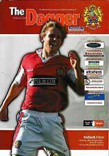 Football Programme>DAGENHAM & REDBRIDGE v OXFORD UNITED Oct 2006 FAC