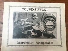 Publicité pour de la Mort-aux-Rats : COUPE-SIFFLET ALEXANDRE LAVOIX