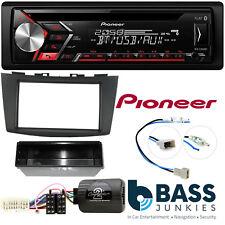 Pioneer Single Din CD MP3 USB Bluetooth Car Stereo Kit For Suzuki Swift 2010-17