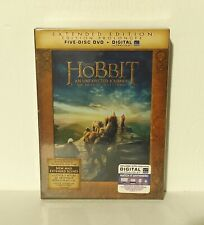 The Hobbit: An Unexpected Journey (DVD, 5-Disc Set, Extended Edition, Canadian)