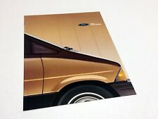 1987 Ford Ranger F-Series Bronco Econoline Bronco II Club Wagon Brochure
