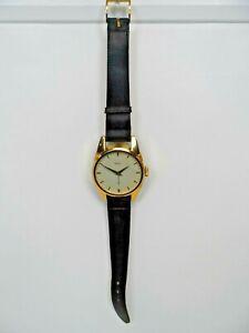 Vintage Modern De Luxe 2 Jewels Mechanical Oversized Watch Wall Clock  C14