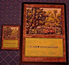 MTG ARENA 1996 PROMO 2 COUNT FOREST CIRCLE M 6x9  JUMBO CARD FROM PACK FREE SHIP