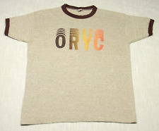 New listing Vintage Oryc Heathered Ringer T-Shirt (70s) Russell Athletic Rayon! Sunburst! M