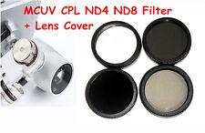 MCUV+ND4+ND8+CPL Filter Kit for DJI Phantom 3 Camera Professional 4K Advanced HD