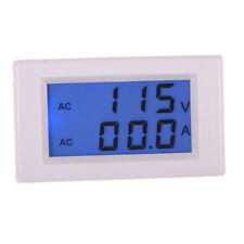 AC 80-300V LCD Digital 100A Volt Watt Power Ammeter Voltmeter Amp Panel Meter