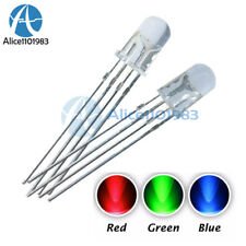 20PCS 5mm 4pin RGB Tri-Color Common Anode LED Light Red Green Blue