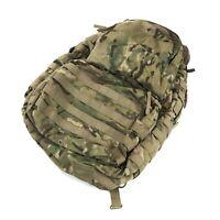 Medium Multicam Rucksack, No Frame, US Army MOLLE USGI Combat Backpack, DEFECT