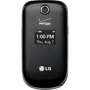 NEW LG Revere 3 - VN170 - Black (Verizon) 3G Basic Flip Camera Cell Phone