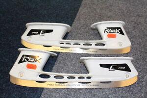 Reebok E Pro 295mm Eishockey Ersatzkufen / Holder / Runner