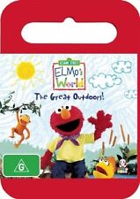 Elmo's World: The Great Outdoors (DVD, 2008) - Region 4