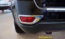 For Jeep Grand Cheroke 2011-2016 Chrome Rear Bumper Fog Light cover Bezel trim