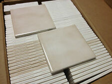 "(Z-8) 20 pc Bathroom Wall Tile Vintage NOS Gloss 4 3/8"" Mexican Sand Reclaim"