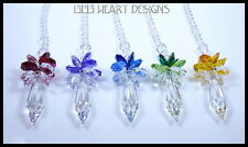 m/w Swarovski 50mm Icicle Sun Catcher You Choose Top Colors Lilli Heart Designs