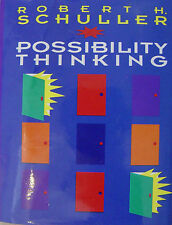 POSSIBILITY THINKING BOOK ROBERT SCHULLER