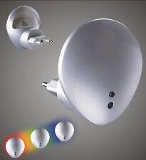 2 Stück LED Nachtlicht mit Sensor Nachtlampe Orientierung für Steckdose Notlicht