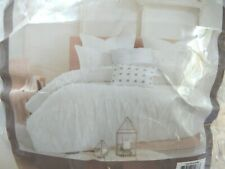 Urban Habitat Twin Xl Polka Dot Comforter Set In Ivory Cotton Uh10-0198