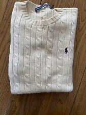 Ralph Lauren Cable Knit Jumper XS