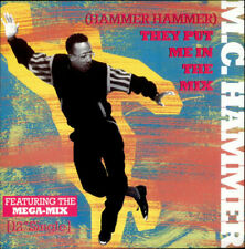 "MC Hammer (Hammer Hammer) They Put Me In... UK 12""  record (Maxi)"