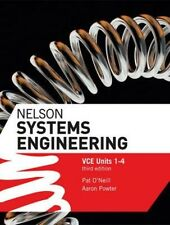 Nelson Systems Engineering VCE Units 1 - 4 By Pat O'Neil Paperback