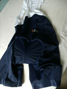 DHB Sportswear Navy/White Ladies All-In-One Racer Back Cycling Shorts 12