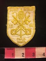 VINTAGE 1956 PHILADELPHIA COUNCIL SCOUT RETREAT Boy Scouts Patch 86H2