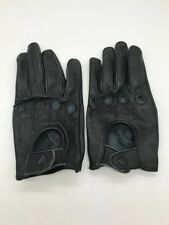 MEN'S CHAUFFEUR REAL SHEEP NAPPA LEATHER CAR DRIVING GLOVES TRUCKING RIDING (COS