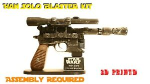 DL-44 Blaster Kit Based on the Han Solo Blaster | 1:1 Scale | Screen Accurate