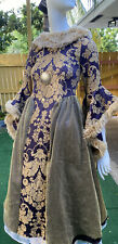 Renaissance Medieval Queen Game of Thrones Dress Halloween Costume Size 14 Xs