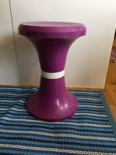 Vintage Mid-Century Purple & White Storage Stool Tam Tam Style – Retro! –