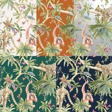 Holden Décor Jungle Animals Leopard Tropical Trees Butterfly Wallpaper