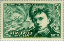 EBS France 1951 Symbolist poet: Arthur Rimbaud YT 910 MNH**