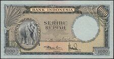 Indonesia 1000 rupiah 1957, EF, Pick 53 / H-245b
