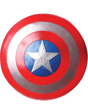 Captain America 60cm Adult Shield One Size